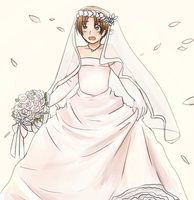 APH - Italy in a Wedding Dress by burntnoodles