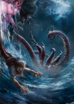 The monster from the depths by DanielClasquin