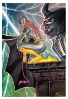 Batgirl_Watercolor_Cover_Dc_Comics by eltondias