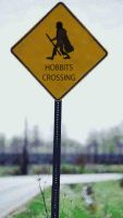 Hobbits Crossing by bethahnee