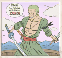 ZORO!! by paintmarvels