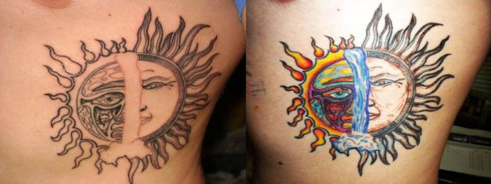 Tattoo Coloring by AestheticEngineer