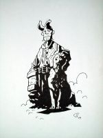 Young Hellboy by writerman34