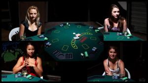030212 Poker shoot - The Players by marshrr