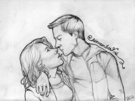 remember us . pencil by artgyrl