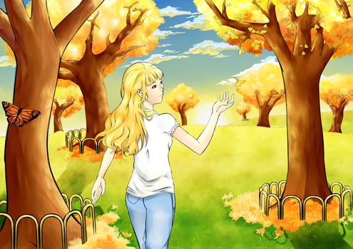 Ginkgo Biloba and Goldilocks by TakeichiSudo