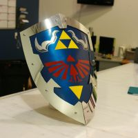 Hylian Shield by nicktheartisticfreak