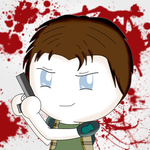 Chris Redfield Onion Head by Neko-CosmicKitty