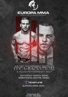 Europa MMA OFFICIAL Poster by DGsWay