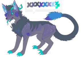 monster mutt -AUCTION CLOSED- by WhiteTieAdopts