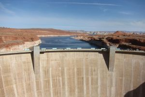 Desert - Arizona Dam wall by elodie50a