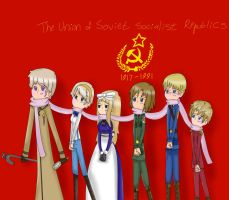 APH- The Soviet Union by DizzyIzzy246