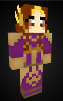Leona in Minecraft by Endette