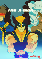 The X-men by Tentakustar