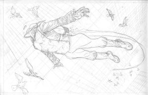 ROCKETEER pencils by MisterHardtimes