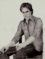 Damon Salvatore by Paranoid-Universe