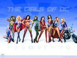 Girls of DC - 1024x768 by ROCINATE