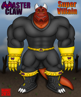 Master Claw the Super Villain by DragonDoctor