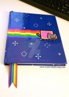 Nyancat Sketchbook by MyFebronia