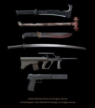 The Walking Dead - No Man's Land  (weapons) by StMan