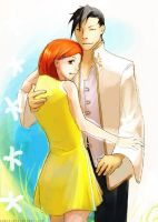 Orihime+Ling by azmin