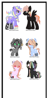 [Breedable] Star Shooter x Unknown [closed] by DevilAdopts
