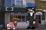 postman pat furry version by PeteOFoyle