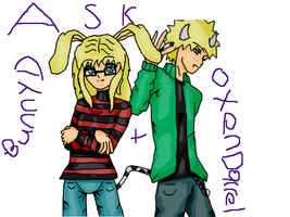Ask Bunny D And Oxen Darrel by animebaka94