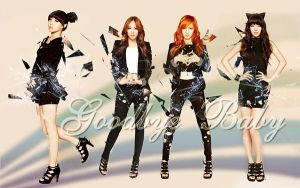 Wall Miss A ver Goodbye baby by RainboWxMikA