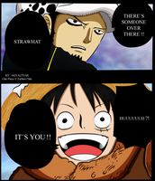 One piece 662 Law and luffy by SLN87
