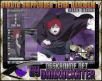 Nagato Uzumaki Theme Windows 7 by Danrockster