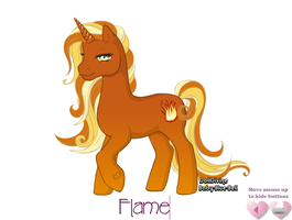 Flame by TheSilentChloey