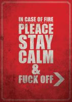 In case of fire... by fIRSTdESCENT