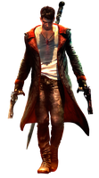 DmC: Devil May Cry - Dante by IvanCEs