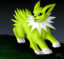 EFC Contest- Jolteon by Zehful