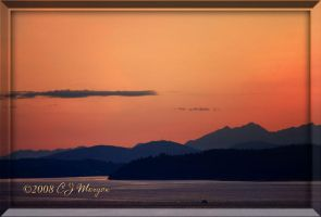 Olympic Sunset Closer by e-CJ