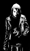 Girl with the Dragon Tattoo- Noomi Rapace. by zippertoe