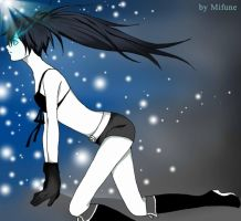 Black rock shooter by Mifune84