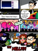 Teen Titans The New Show page 3 by broken-with-roses