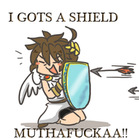 GOTS A SHIELD by SparxPunx