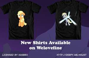 2 New Welovefine Tees available by Toxic-Mario