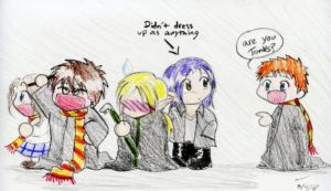 Deathly Hallows release party by hell-chicken