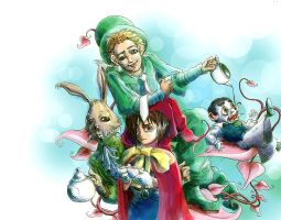 Mad Tea Party: Endling Comp by dbebek