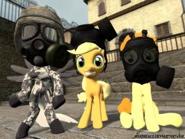 MLP: Gasmasks testing by MarineACU