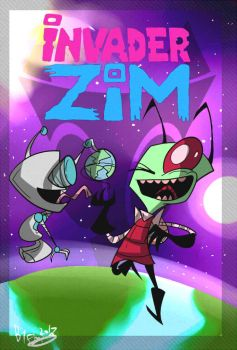 Zim fan made cover by Freakly-Silent
