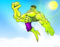 The Hulk by CoopahCraft