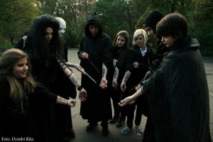 Voldemort and the Death Eaters - The Dark Marks by Dijjou