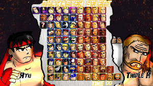 WWC X WWE Character Select Screen by 2ndCityCrusader