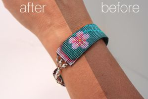 Bracelet Artisan Crafts Photo Editing Example by chat-noir