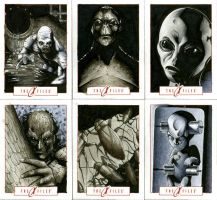 X-Files Sketch Cards 01 by RichardCox
